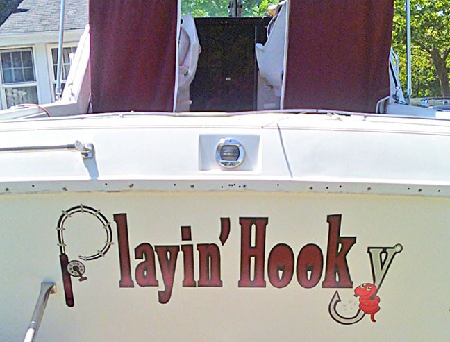 boat lettering long island ny