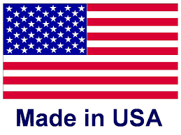American flag with Made in USA  written below