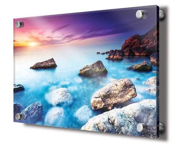 acrylic mounted prints