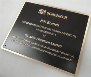 Bronze Plaques and Metal Plaques