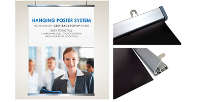 Snap Poster Hanger