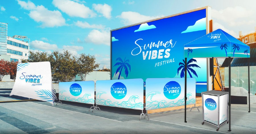 Step and repeat banners and outdoor displays graphics long island new york ny usa